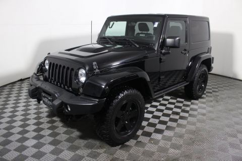 Pre-Owned 2012 Jeep Wrangler 4WD 2dr Rubicon Four Wheel Drive SUV
