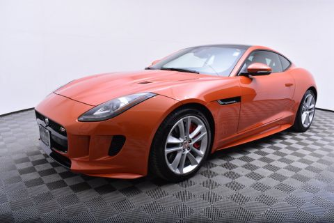 Pre-Owned 2016 Jaguar F-TYPE 2dr Coupe Automatic S AWD AWD