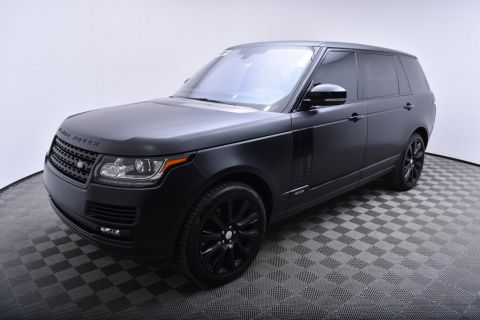 Pre-Owned 2014 Land Rover Range Rover 4WD 4dr Supercharged LWB Four Wheel Drive SUV