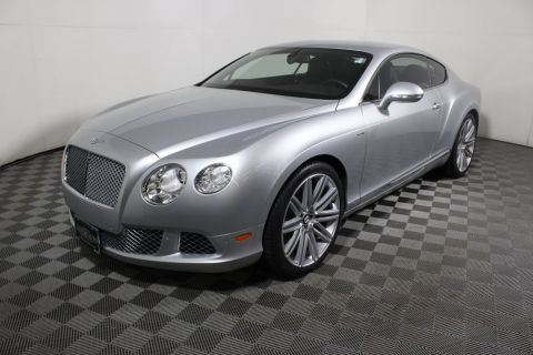 Certified Pre-Owned 2013 Bentley CONTINENTAL GT 2DR CPE AWD