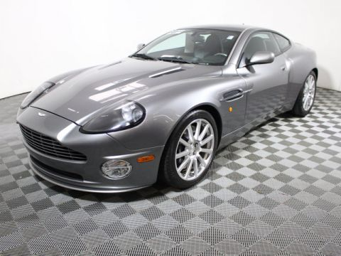 Pre-Owned 2006 Aston Martin Vanquish S 2DR CPE Rear Wheel Drive Coupe
