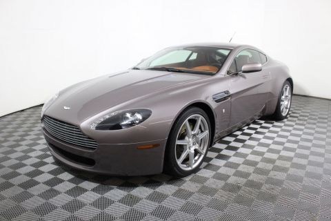 Pre-Owned 2007 Aston Martin Vantage 2dr Coupe Manual Rear Wheel Drive Coupe