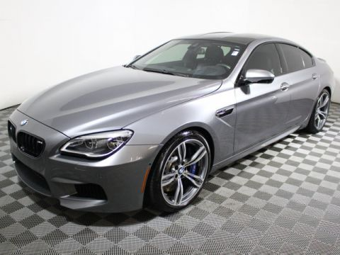 Pre-Owned 2016 BMW M6 4dr Gran Coupe Rear Wheel Drive Sedan