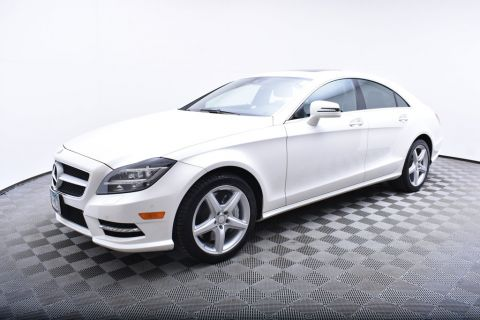 Pre-Owned 2014 Mercedes-Benz CLS 4dr Sedan CLS 550 4MATIC® AWD