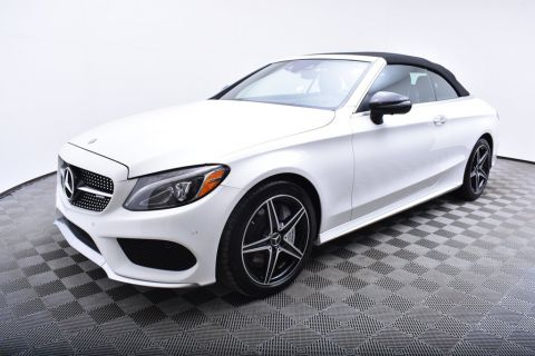 Pre-Owned 2017 Mercedes-Benz C-Class AMG® C 43 4MATIC Cabriolet AWD