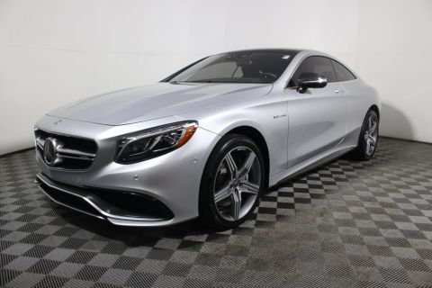 Pre-Owned 2015 Mercedes-Benz S-Class 2dr Coupe S 63 AMG® 4MATIC AWD