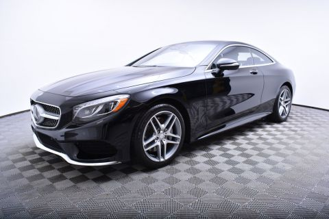 Pre-Owned 2016 Mercedes-Benz S-Class 2dr Coupe S 550 4MATIC® AWD