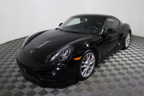 Pre-Owned 2014 Porsche Cayman 2dr Coupe S Rear Wheel Drive Coupe