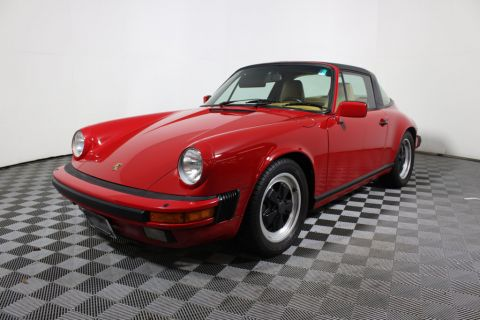 Pre-Owned 1986 Porsche 911 TARGA Rear Wheel Drive Convertible