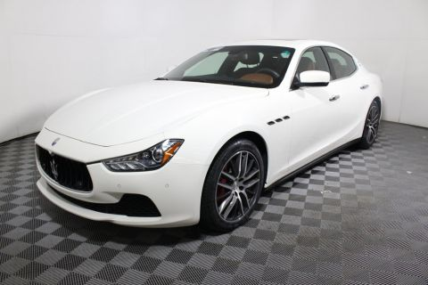 Certified Pre-Owned 2014 Maserati Ghibli 4dr Sedan S Q4 AWD