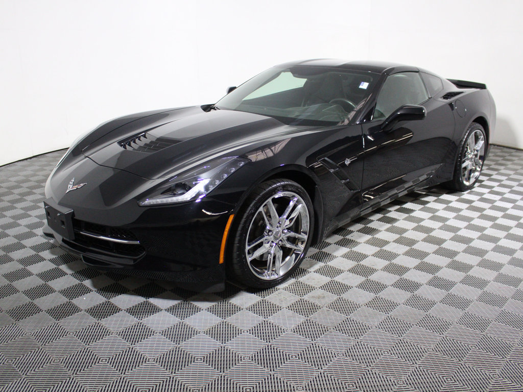 pre owned 2015 chevrolet corvette 2dr stingray z51 coupe w. Black Bedroom Furniture Sets. Home Design Ideas