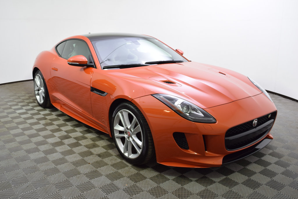 Pre-Owned 2016 Jaguar F-TYPE 2dr Coupe Automatic S AWD
