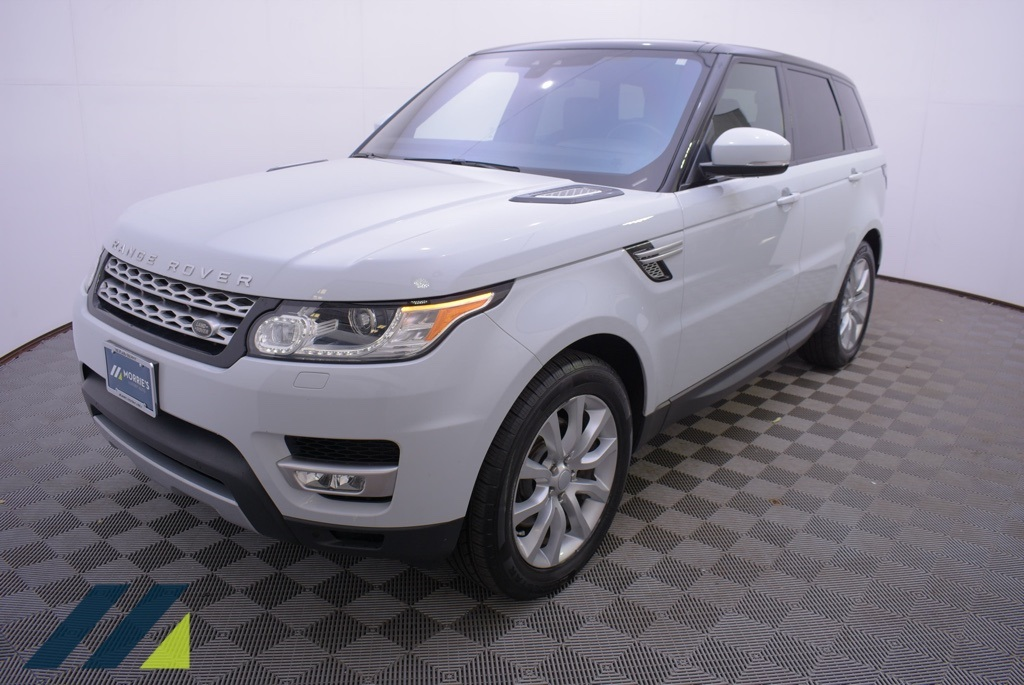 Pre-Owned 2017 Land Rover Range Rover Sport 3.0L V6 Supercharged HSE