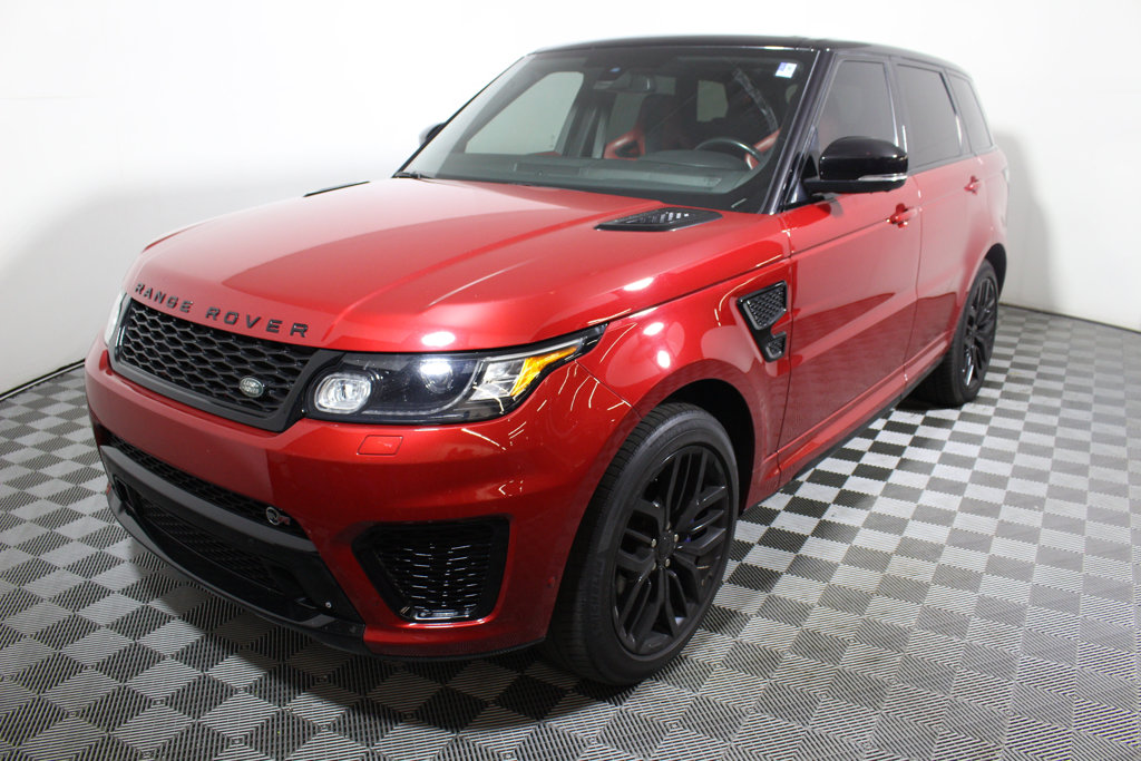 Pre-Owned 2015 Land Rover Range Rover Sport 4WD 4dr SVR