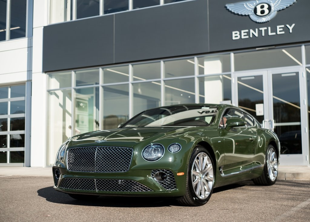 New 2020 Bentley Continental GT V8 With Navigation & AWD