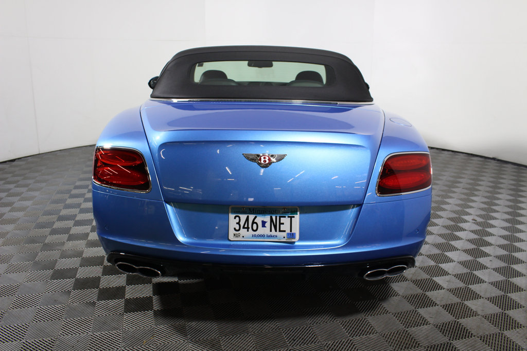 Pre-Owned 2014 Bentley Continental GT V8 S 2dr Convertible