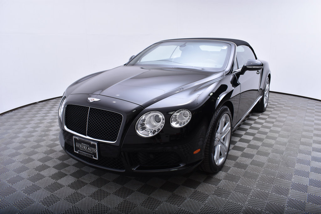 Certified Pre-Owned 2013 Bentley Continental GT V8 2dr Convertible