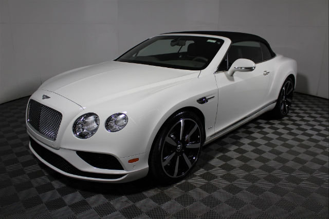 New 2017 Bentley Continental GT Convertible With Navigation & AWD