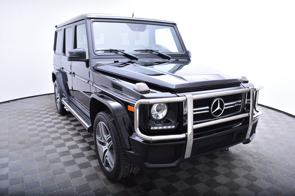 Pre-Owned 2016 Mercedes-Benz G-Class 4MATIC 4dr AMG® G 63