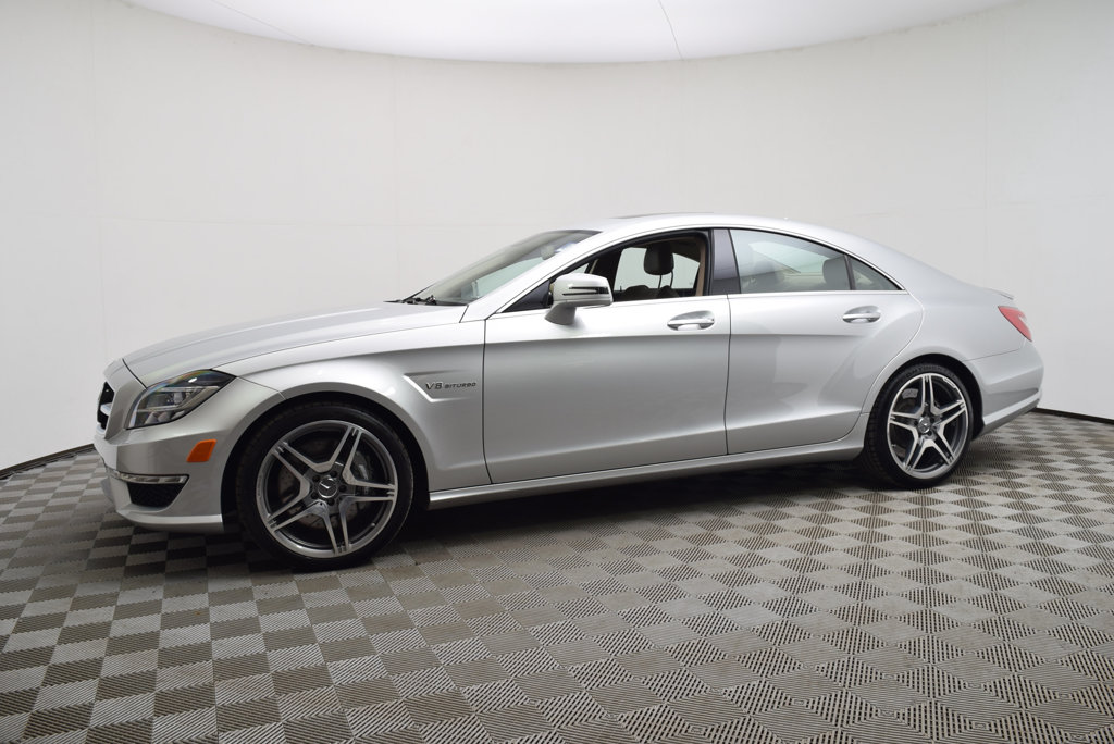 Pre-Owned 2013 Mercedes-Benz CLS 4dr Coupe CLS63 AMG RWD