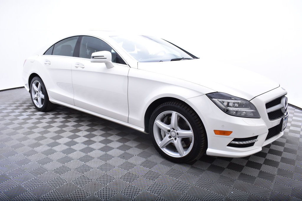 Pre-Owned 2014 Mercedes-Benz CLS 4dr Sedan CLS 550 4MATIC®
