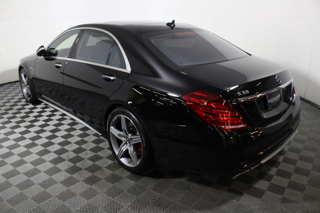 Pre-Owned 2015 Mercedes-Benz S-Class 4dr Sedan S 63 AMG® 4MATIC