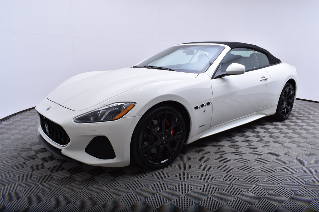 New 2018 Maserati GranTurismo Convertible Sport 4.7L Rear Wheel Drive Convertible