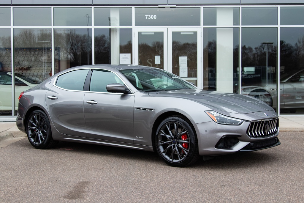 New 2019 Maserati Ghibli S Q4 GranSport With Navigation & AWD