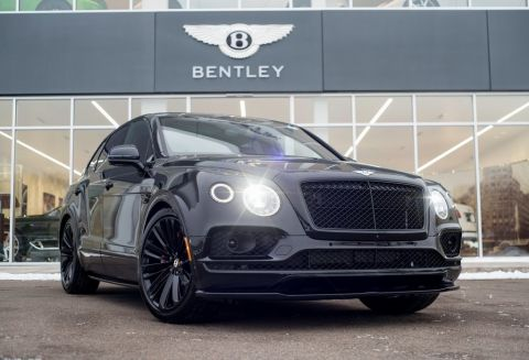 New 2020 Bentley Bentayga Speed W12