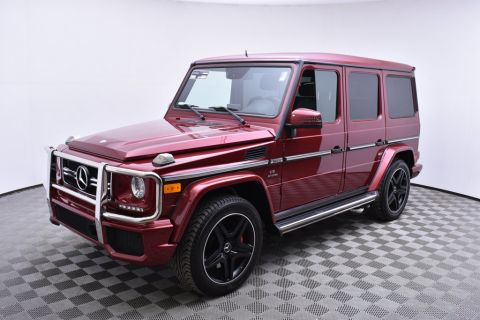 Pre-Owned 2014 Mercedes-Benz G-Class 4MATIC 4dr G 63 AMG