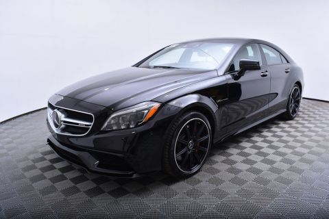 Pre-Owned 2017 Mercedes-Benz CLS AMG CLS 63 S 4MATIC Coupe