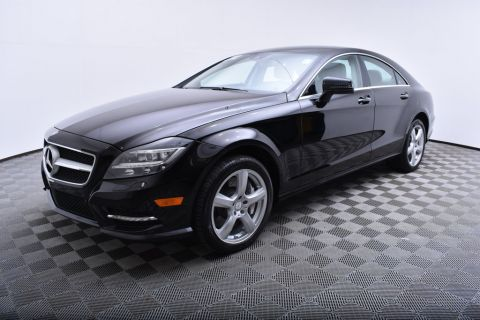 Pre-Owned 2013 Mercedes-Benz CLS 4dr Coupe CLS550 4MATIC